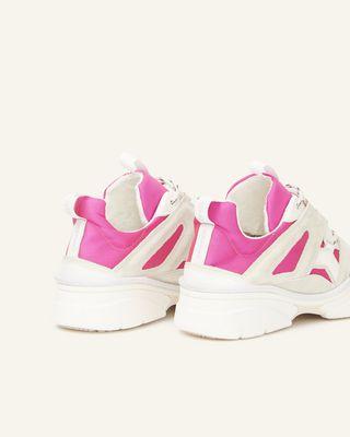ISABEL MARANT 运动鞋 女士 METTALIC KINDSAY 运动鞋 d