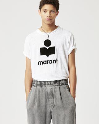 ISABEL MARANT T 恤 男士 KARMAN T恤 r