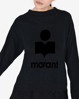 ISABEL MARANT ÉTOILE LOGO TEESHIRT 女士 KILSEN T 恤 r