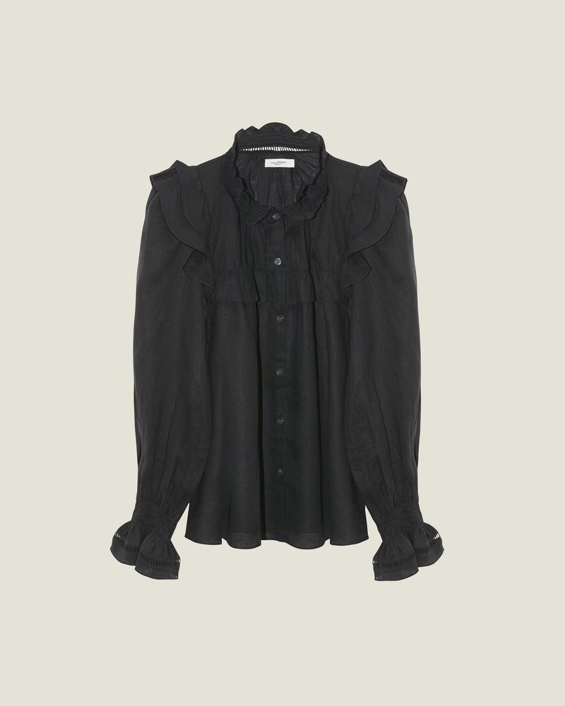 ISABEL MARANT ÉTOILE 衬衫与罩衫 女士 ATEDY 上衣 r