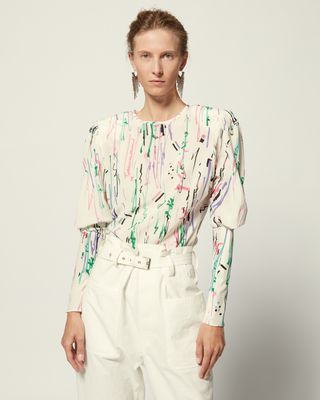 ISABEL MARANT 衬衫与罩衫 女士 FAVALLIA 上衣 r
