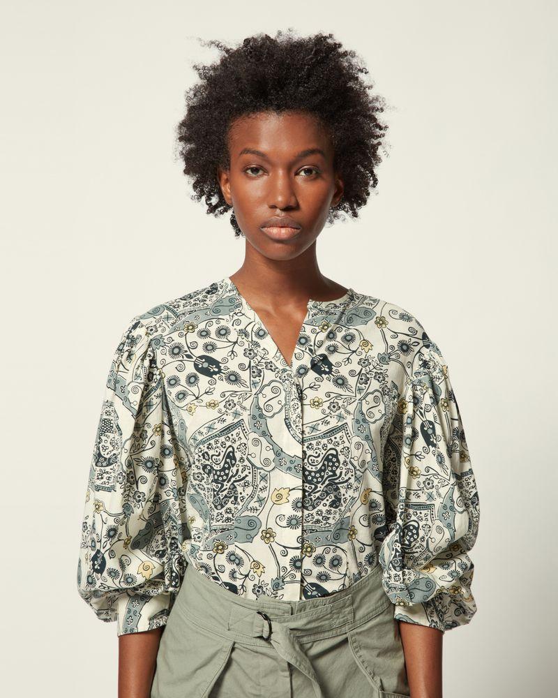 ISABEL MARANT ÉTOILE 衬衫与罩衫 女士 UNATIL 上衣 r