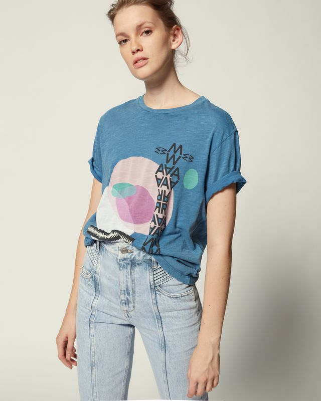 ISABEL MARANT ÉTOILE T 恤 女士 PEWELA T 恤 r