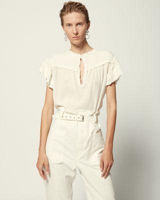 ISABEL MARANT 衬衫与罩衫 女士 IRVING 上衣 r