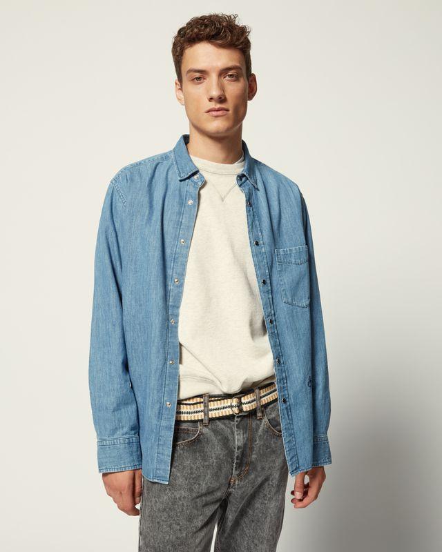 ISABEL MARANT 衬衫与罩衫 男士 LAKO P 衬衫 r