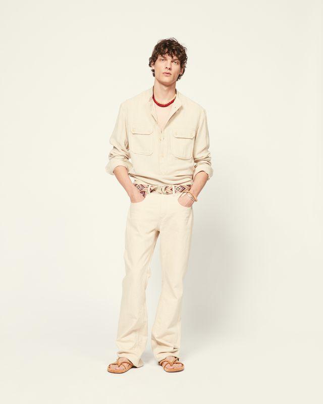 ISABEL MARANT 衬衫与罩衫 男士 PELIZ 衬衫 r