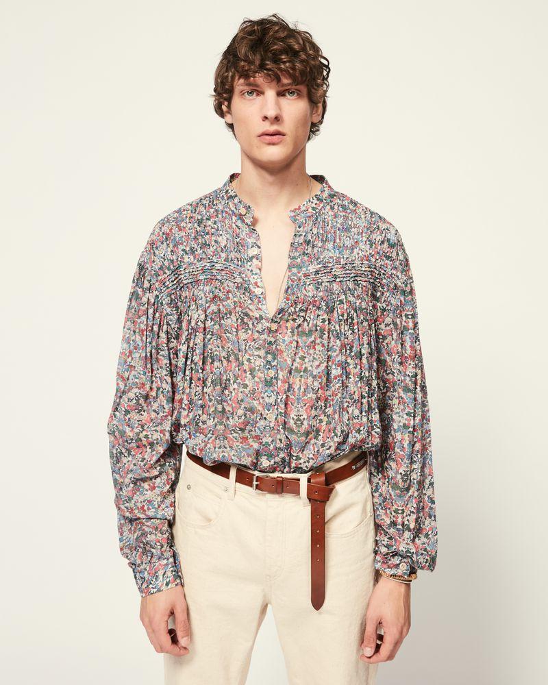 ISABEL MARANT 衬衫与罩衫 男士 NAEL 衬衫 r