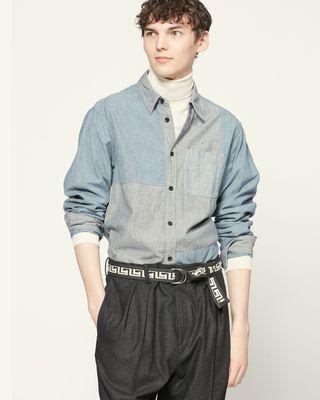 ISABEL MARANT 衬衫与罩衫 男士 HAYRAS 衬衫 r
