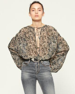 ISABEL MARANT ÉTOILE 衬衫与罩衫 女士 LILIANA 上衣 r