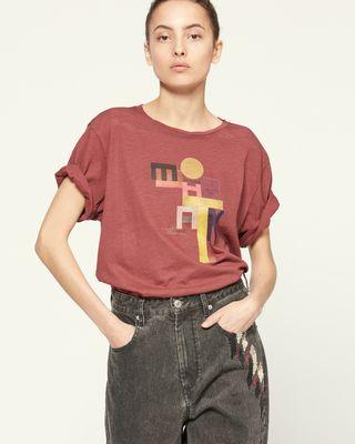 ISABEL MARANT ÉTOILE T 恤 女士 ZEWEL T 恤 r