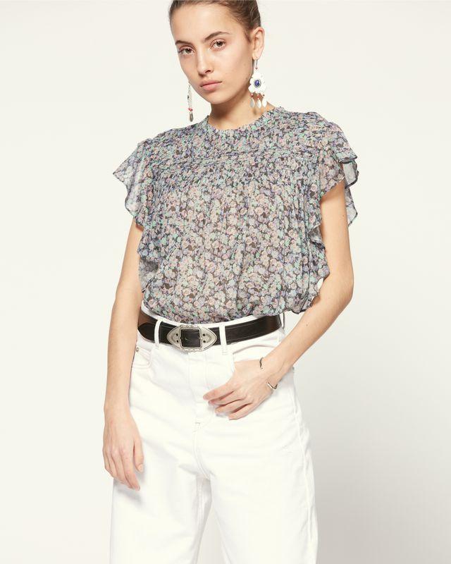 ISABEL MARANT ÉTOILE 衬衫与罩衫 女士 LAYONA 上衣 r