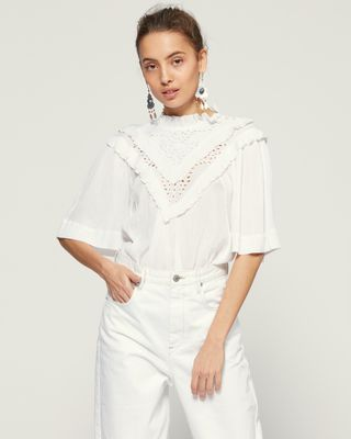 ISABEL MARANT ÉTOILE 衬衫与罩衫 女士 IDOA 上衣 r