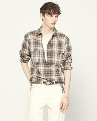 ISABEL MARANT 衬衫与罩衫 男士 PITT 衬衫 r