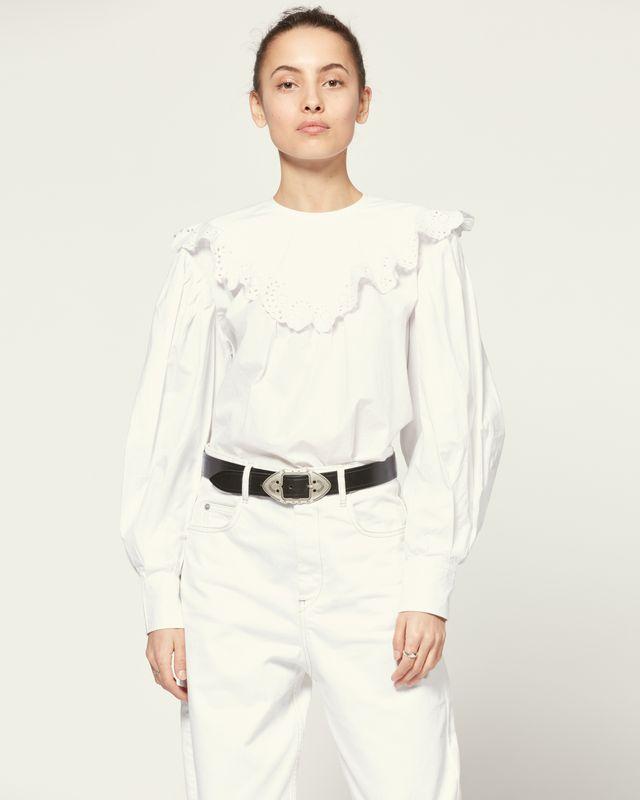 ISABEL MARANT ÉTOILE 衬衫与罩衫 女士 OUNISSA 罩衫 r