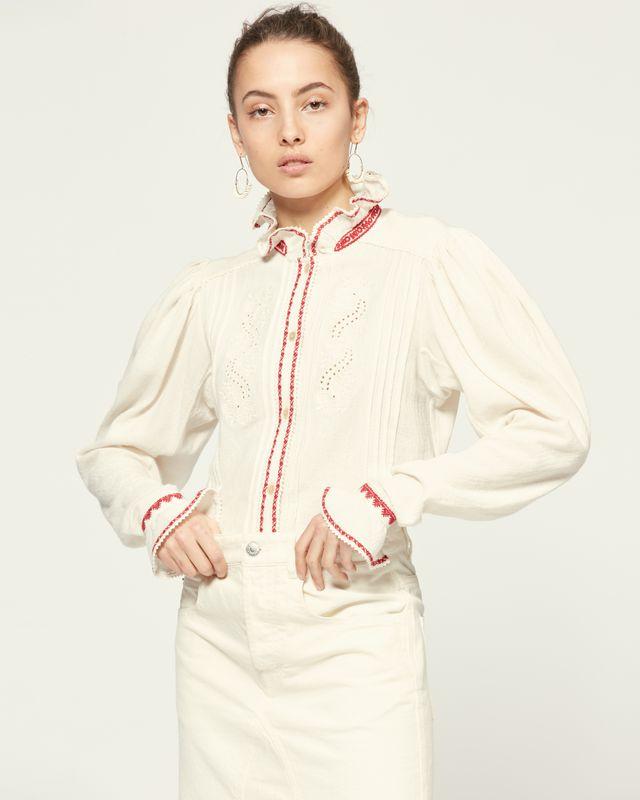 ISABEL MARANT ÉTOILE 衬衫与罩衫 女士 ROSIE 上衣 r