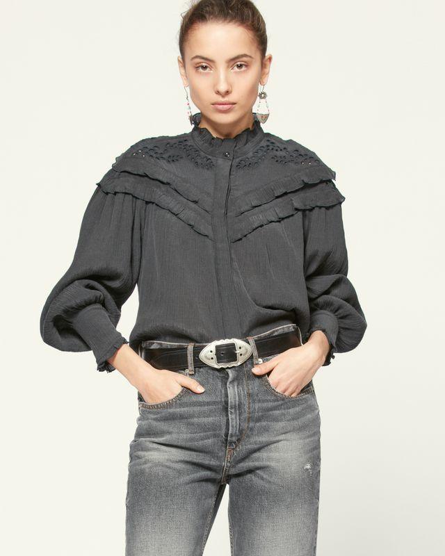 ISABEL MARANT ÉTOILE 衬衫与罩衫 女士 IZAE 上衣 r