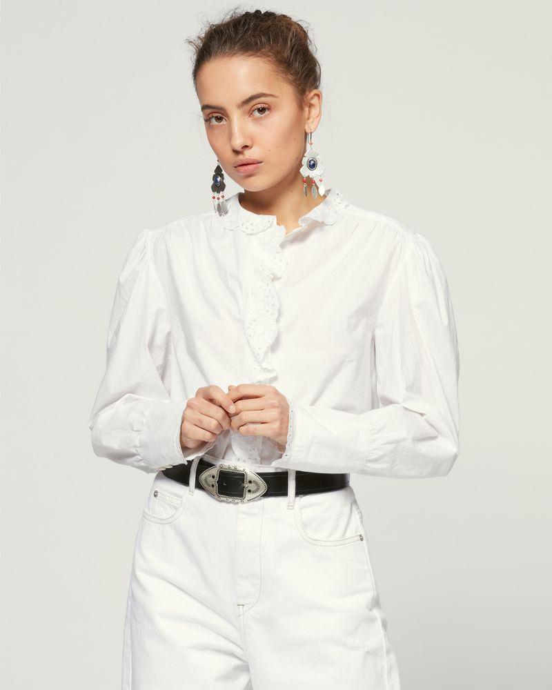 ISABEL MARANT ÉTOILE 衬衫与罩衫 女士 ORLANA 罩衫 r