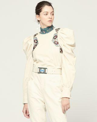 ISABEL MARANT 衬衫与罩衫 女士 ELWOOD 上衣 r