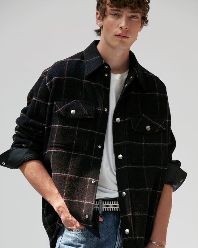ISABEL MARANT 衬衫与罩衫 男士 FESLEYLI大衣 r
