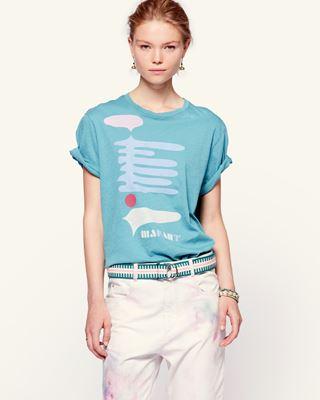 ISABEL MARANT ÉTOILE T 恤 女士 ZEWEL T恤 r