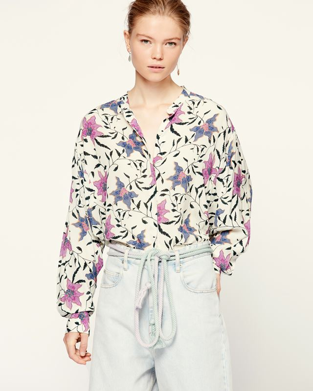 ISABEL MARANT ÉTOILE 衬衫与罩衫 女士 CATCHELL女衫 r