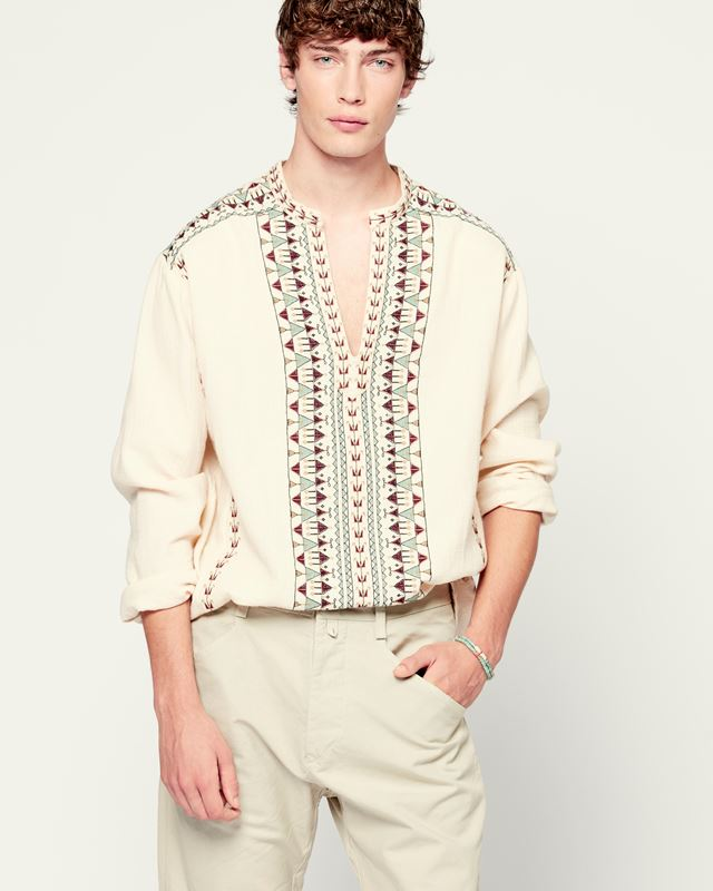 ISABEL MARANT 衬衫与罩衫 男士 IKARIAH上衣 r