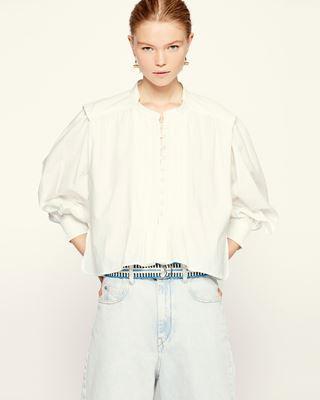 ISABEL MARANT ÉTOILE 衬衫与罩衫 女士 OKINA上衣 r