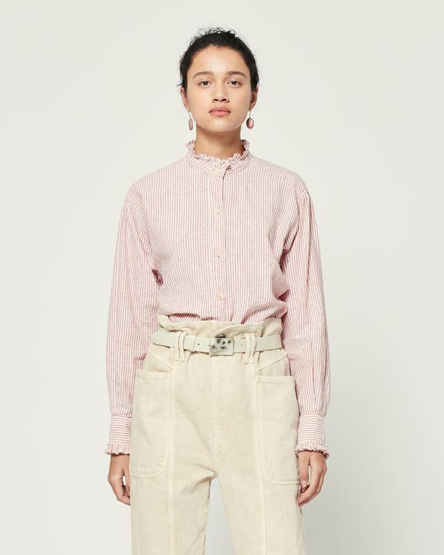 ISABEL MARANT ÉTOILE 衬衫与罩衫 女士 SAOLI 衬衫 r