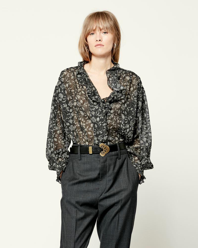 ISABEL MARANT ÉTOILE 衬衫与罩衫 女士 PAMIAS 罩衫 r