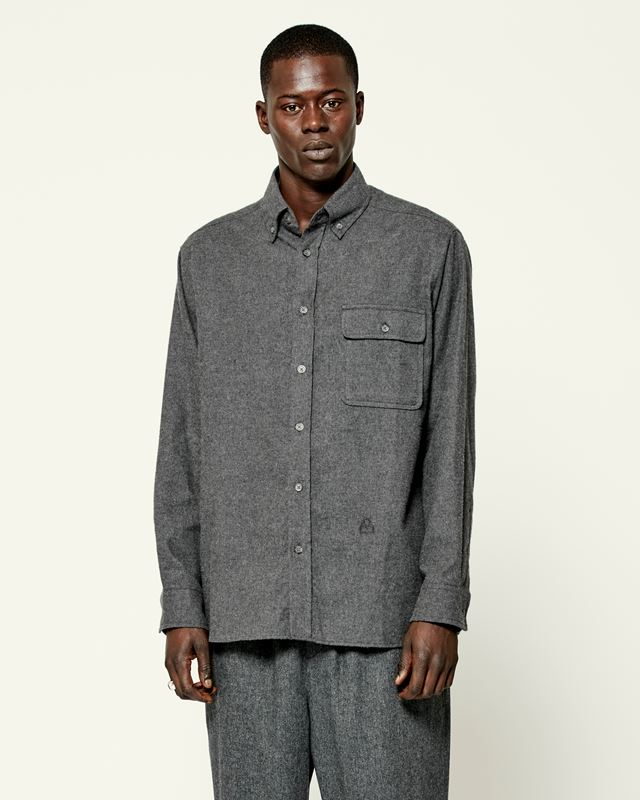ISABEL MARANT 衬衫与罩衫 男士 PILAR 衬衫 r