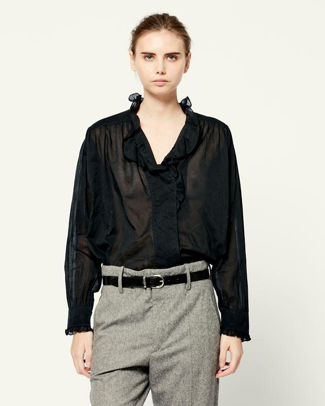 ISABEL MARANT ÉTOILE 衬衫与罩衫 女士 PAMIAS 上衣 r