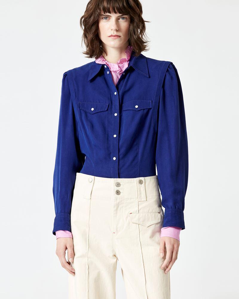 ISABEL MARANT ÉTOILE 衬衫与罩衫 女士 TANALKI 衬衫 r
