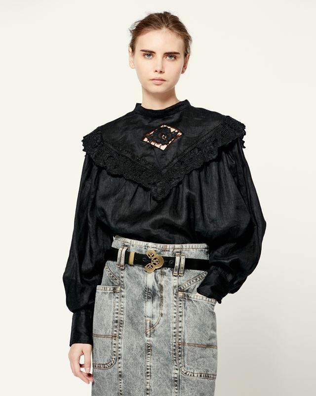 ISABEL MARANT ÉTOILE 衬衫与罩衫 女士 ELIJA 上衣 r