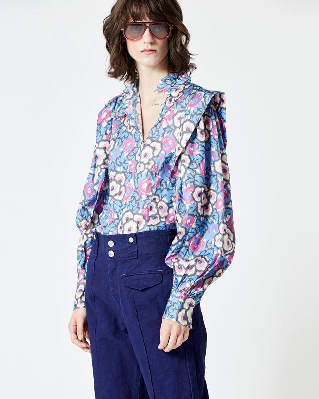 ISABEL MARANT 衬衫与罩衫 女士 CHANDRA 上衣 r