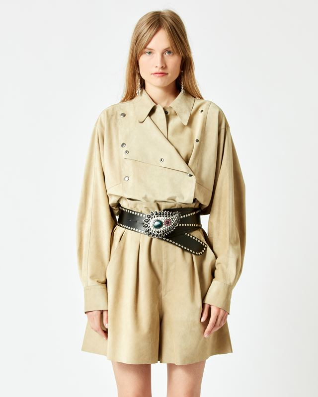 ISABEL MARANT 衬衫与罩衫 女士 CERZA 夹克 r