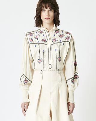 ISABEL MARANT 衬衫与罩衫 女士 CISKA 上衣 r