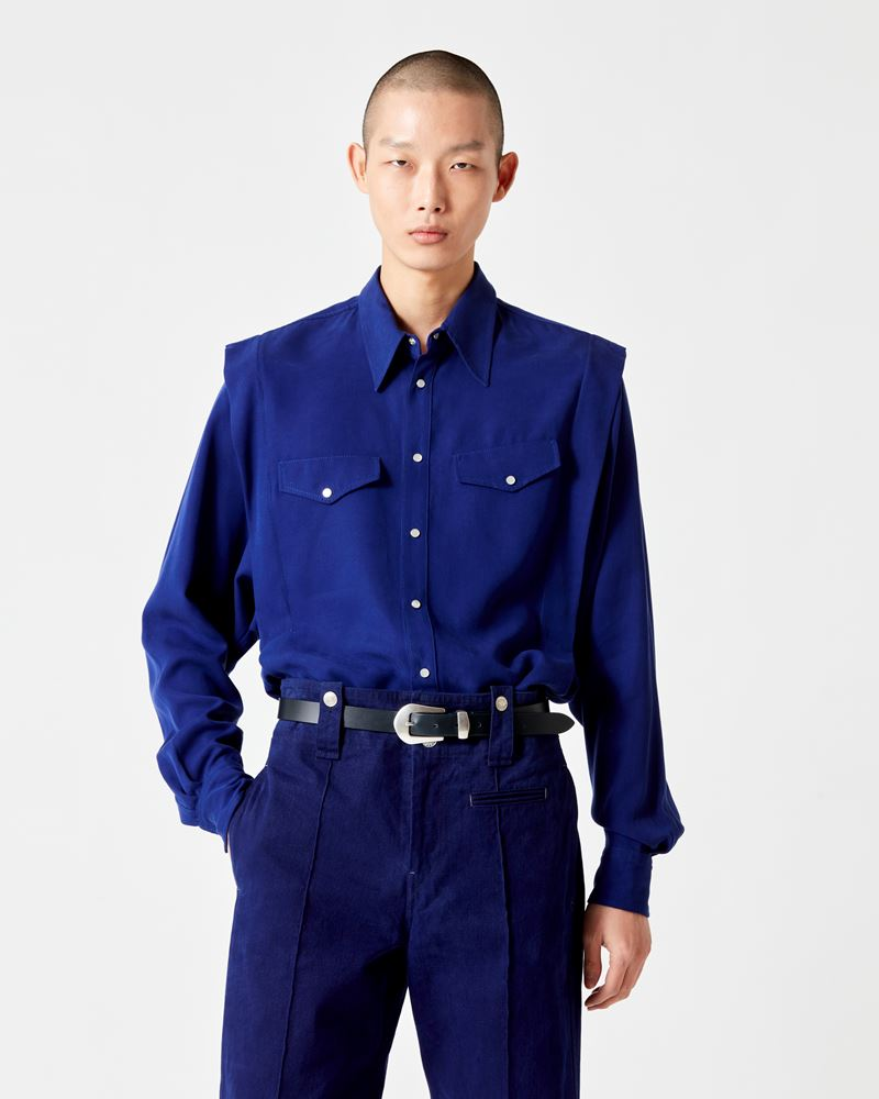 ISABEL MARANT 衬衫与罩衫 男士 TANALKIM 衬衫 r