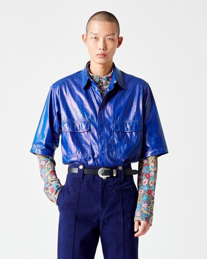 ISABEL MARANT 衬衫与罩衫 男士 GILIN 衬衫 r