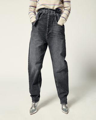 ISABEL MARANT ÉTOILE 牛仔裤 女士 GLORIA 裤装 r