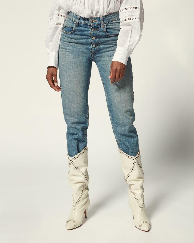ISABEL MARANT ÉTOILE 牛仔裤 女士 GARANCE 裤装 r