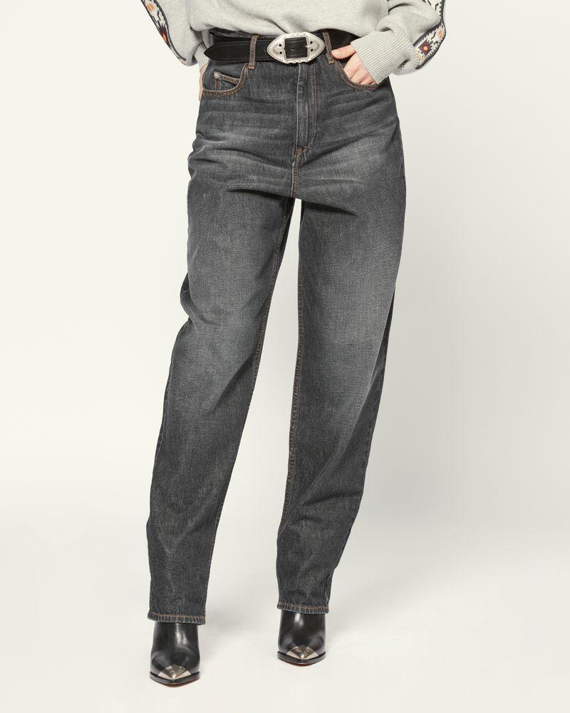 ISABEL MARANT ÉTOILE 牛仔裤 女士 CORSY 牛仔裤 r