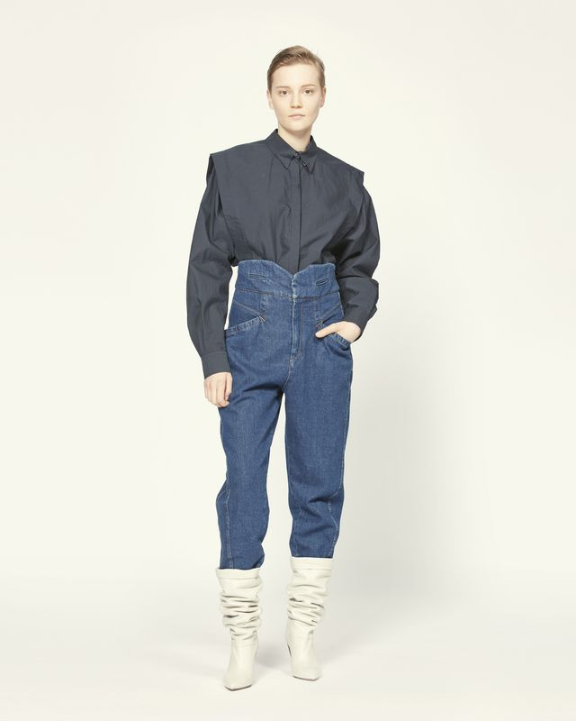 NUBAIA 牛仔裤