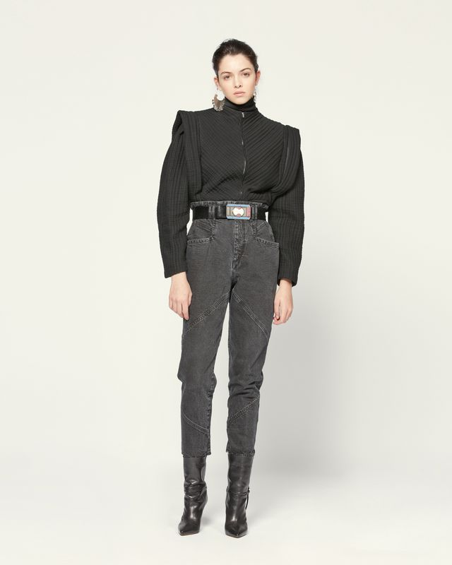 NADELOISA 牛仔裤