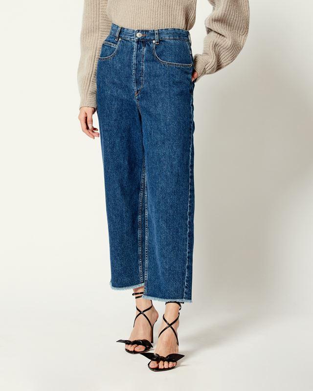 浅灰色牛仔裤男_Étoile 牛仔裤 - Isabel Marant | 官方网络旗舰店