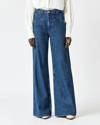 ISABEL MARANT 长裤 女士 LEMONY 裤装 r