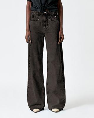 ISABEL MARANT 长裤 女士 LEMONY 牛仔裤 r