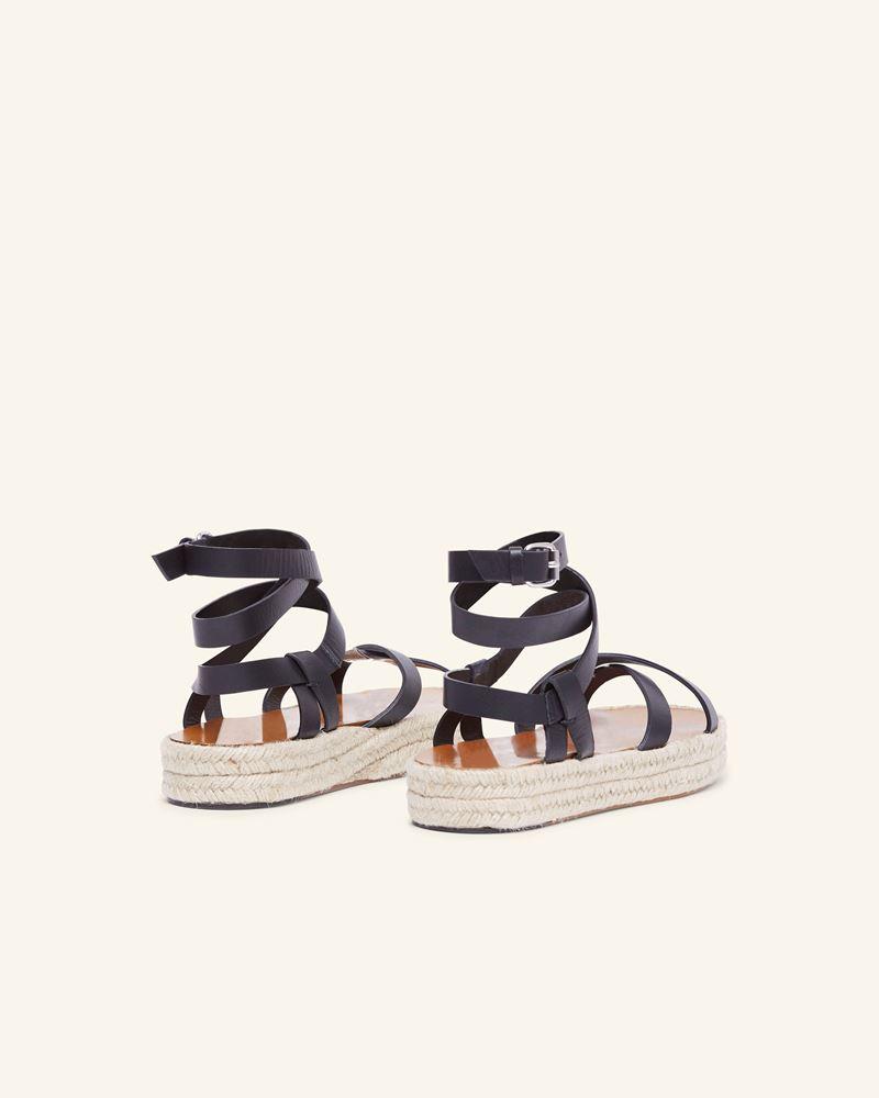 ISABEL MARANT 麻底便鞋 女士 MELYZ麻底鞋 d