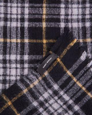 ISABEL MARANT 围巾 男士 格纹羊毛围巾 尺寸:65 x 180 cm d
