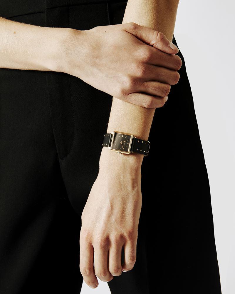 La Montre 不锈钢皮革腕表 ISABEL MARANT
