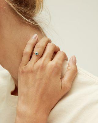ISABEL MARANT 戒指 女士 LUCKY 戒指 d